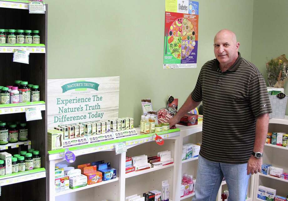 Andy Delillo, owner of Main Street Rx, stands in his new store in the Plaza South Shopping Center on South Main Street inNewtown, Conn., on Monday, Sept. 18, 2017. Photo: Chris Bosak / Hearst Connecticut Media / The News-Times