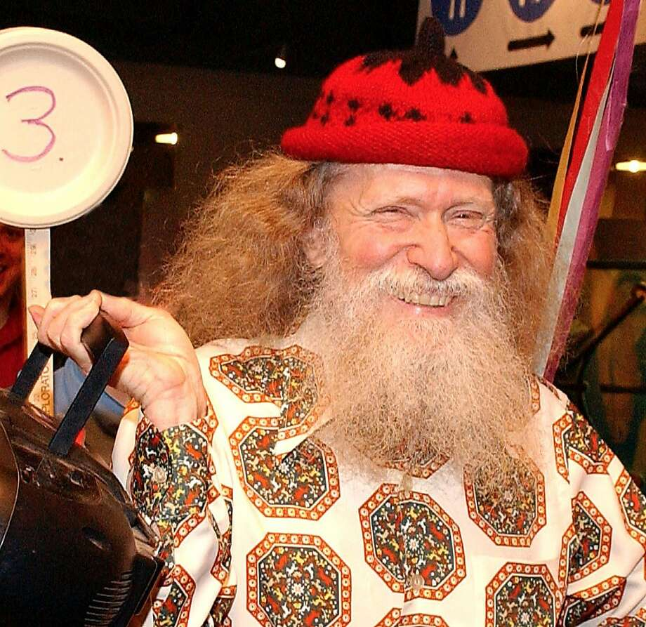 Larry Shaw, who created Pi Day in 1988, led a parade at the Exploratorium every March 14. Photo: Courtesy Of The Family, Handout Photo