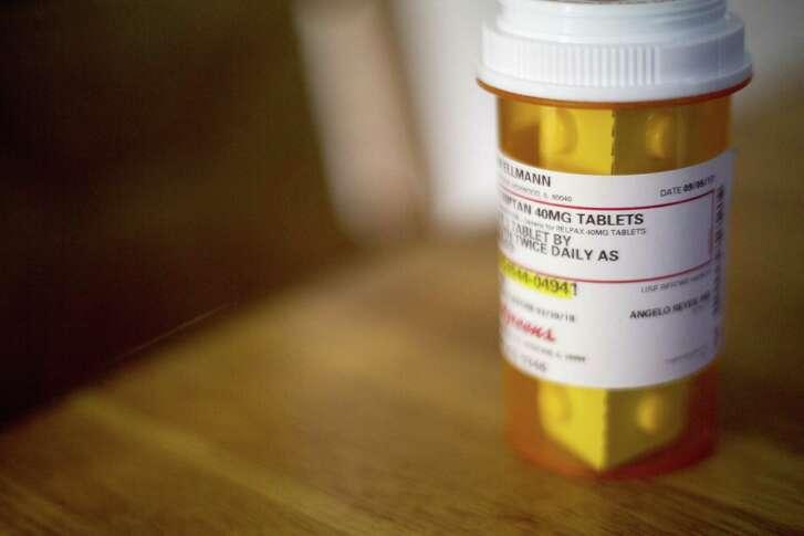 John Ellmann's prescription for Relpax, a medicine used to treat migraine headaches.