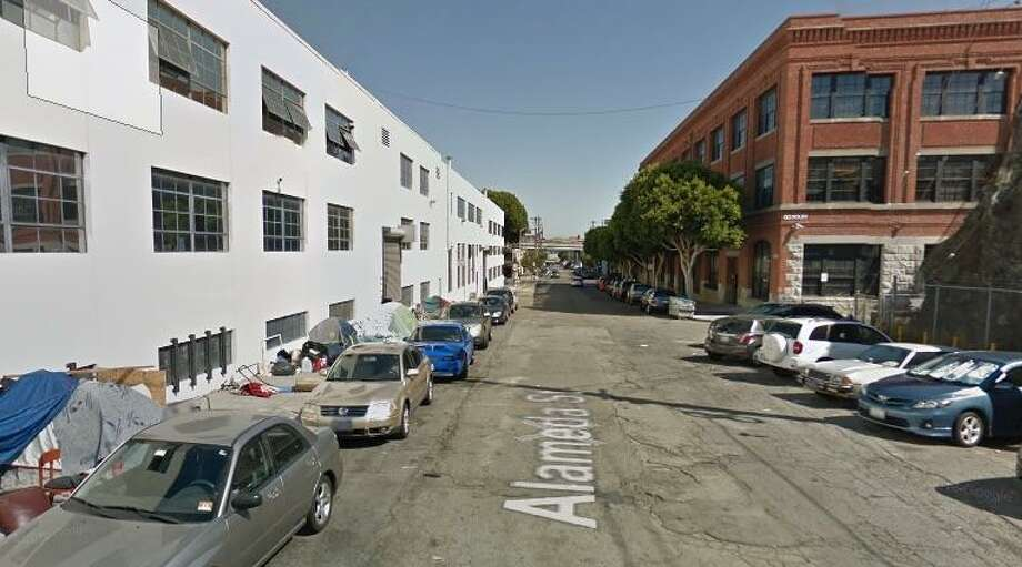 A 52-year-old man died on Saturday after he was found stabbed multiple times near the intersection of Hampshire and Alameda streets in the Mission District of San Francisco. Photo: Google Maps / /