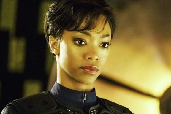 "Sonequa Martin-Green star in ""Star Trek: Discovery."""
