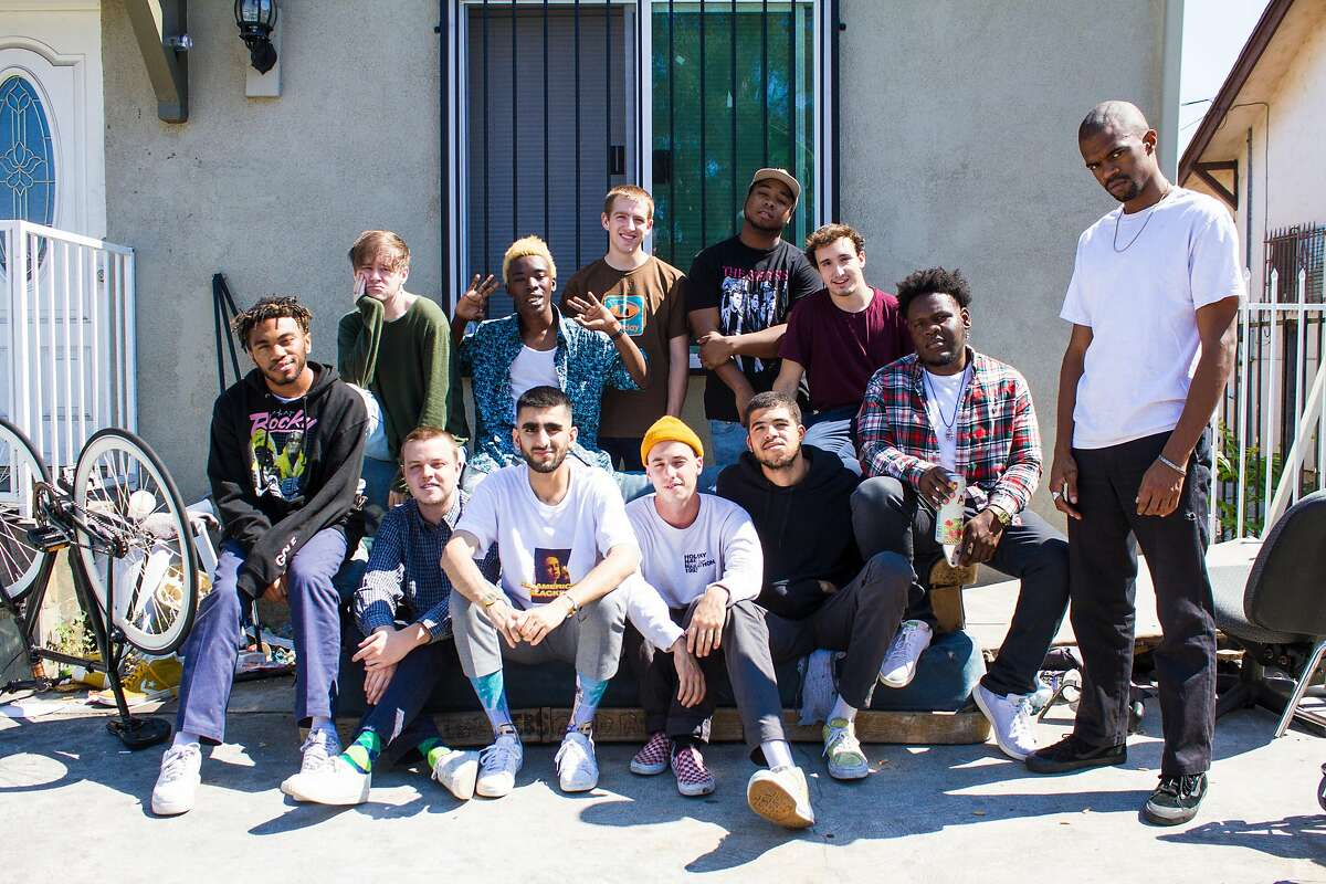 Brockhampton is a 14-member collective of artists and rappers who describe themselves as an