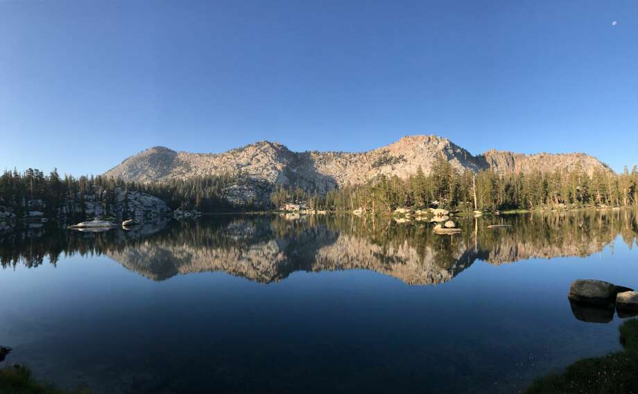 Island Lake with the Three Sisters in the Dinkey Lakes Wilderness. Photo: Thorston Tichenor