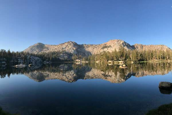 Island Lake in the Dinkey Lakes Wilderness.