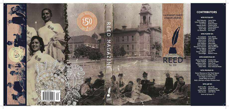 Reed magazine was founded in 1867 by the female students of California State Normal School, which would become San Jose State University. Photo: Reed Magazine