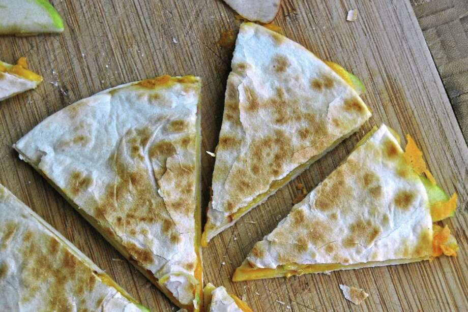 Cheese and Apple Quesadillas Photo: Gretchen McKay, MBR / Pittsburgh Post-Gazette