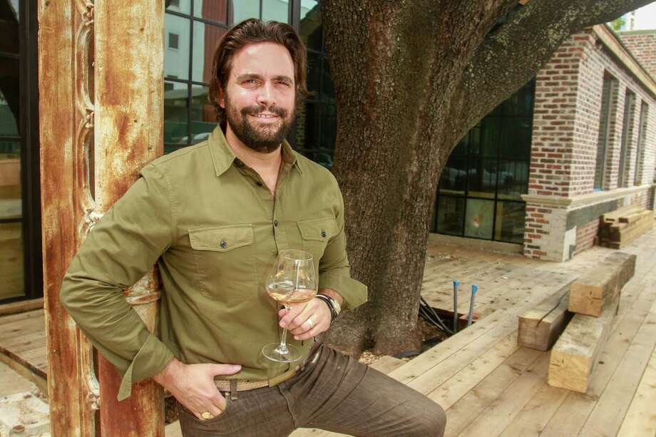 Sam Governale has reset the opening of his new restaurant, Emmaline, for midfall. A significant roof leak, revealed by Hurricane Harvey's 50-plus-inch downpour, is far more easily dealt with now, he says. Photo: Gary Fountain, For The Chronicle / Copyright 2017 Gary Fountain