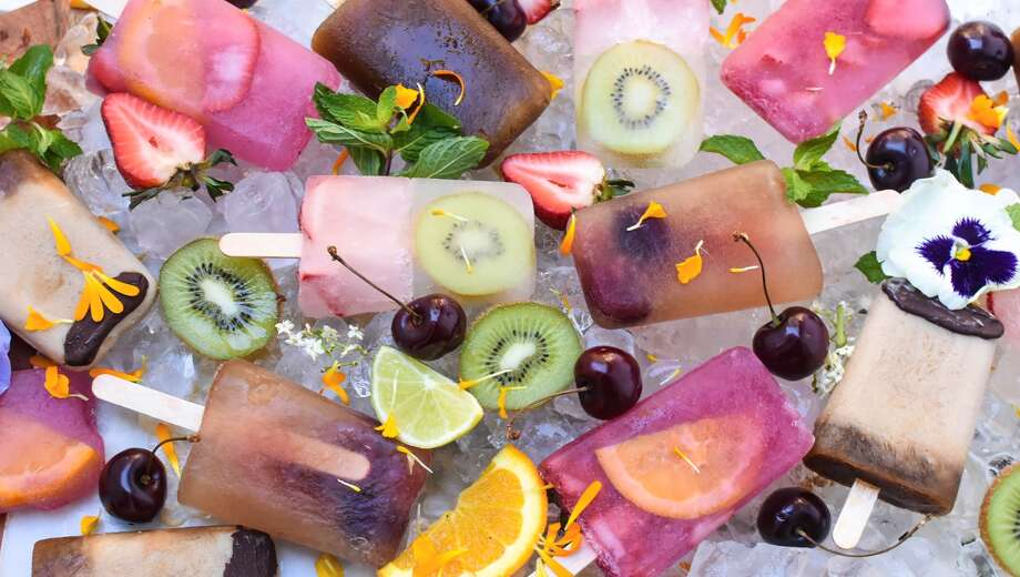 Boozy popsicles are perfect for late-summer entertaining. Photo: Courtesy Photo