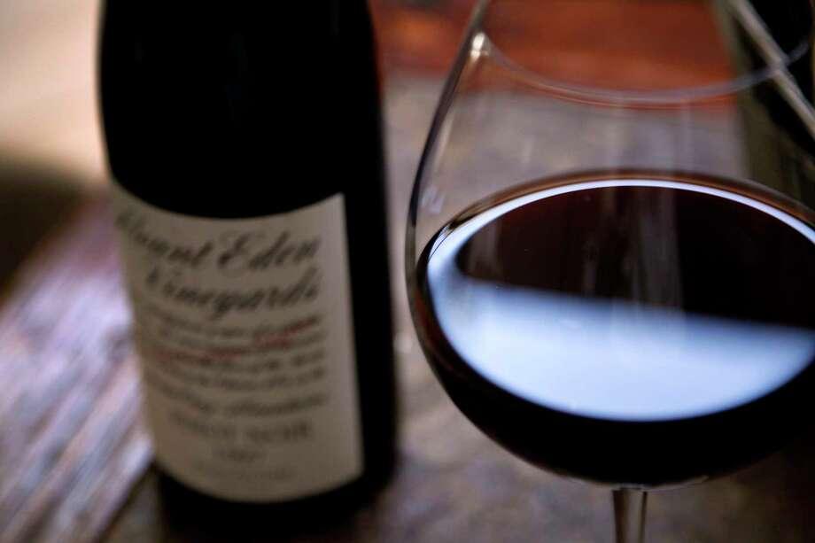 A wine glass at Manresa restaurant in Los Gatos, Calif., on Friday, August 2, 2013. Photo: Preston Gannaway, Freelance / ONLINE_YES