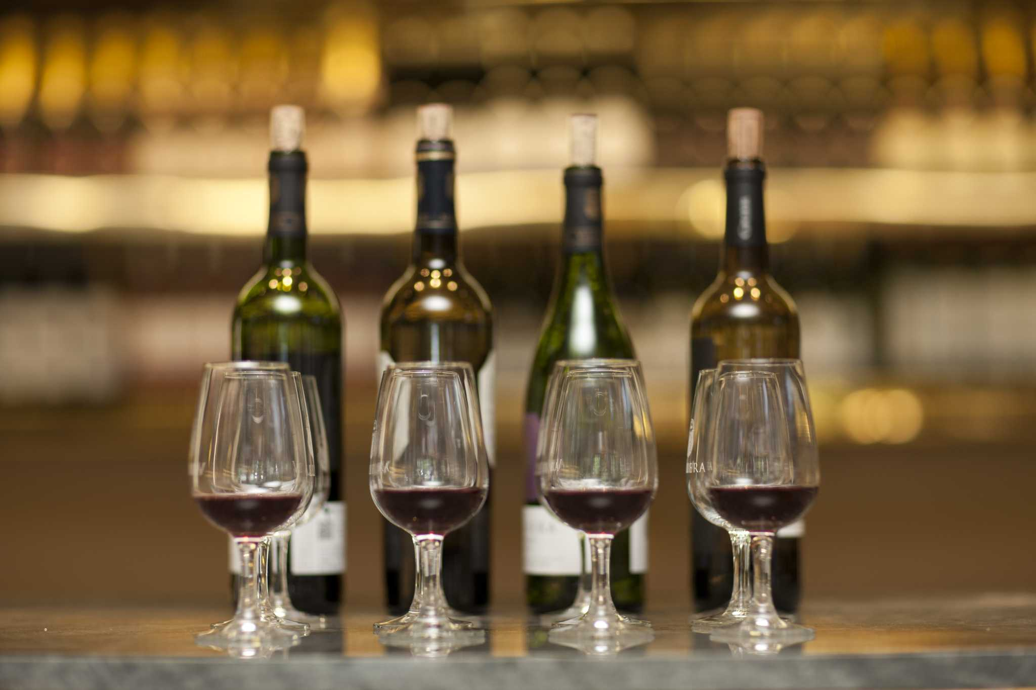 Try one of Houston`s best wine bars for...