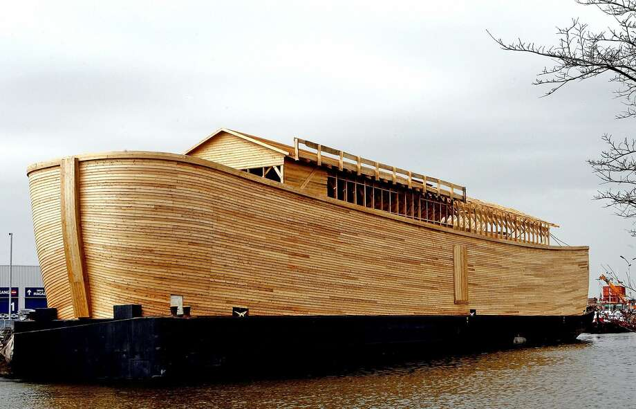 This working replica of Noah's ark was built by Johan Huibers in the Netherlands in 2006. The biblical story of Noah and the flood contains lessons for dealing with modern-day deluges. Photo: File Photo / X01919