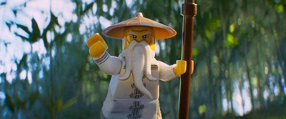 The character of Ninja mentor Master Wu is voiced by Jackie Chan, who also plays a wise shopkeeper in a live action sequence. Photo: Warner Bros., TNS