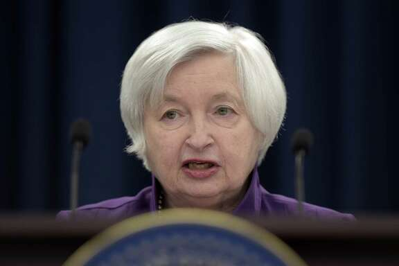 Federal Reserve Chairman Janet Yellen announces the Federal Open Market Committee interest-rate hike in June. The Federal Open Market Committee wraps up a two-day meeting Wednesday, but a rate hike is not expected.