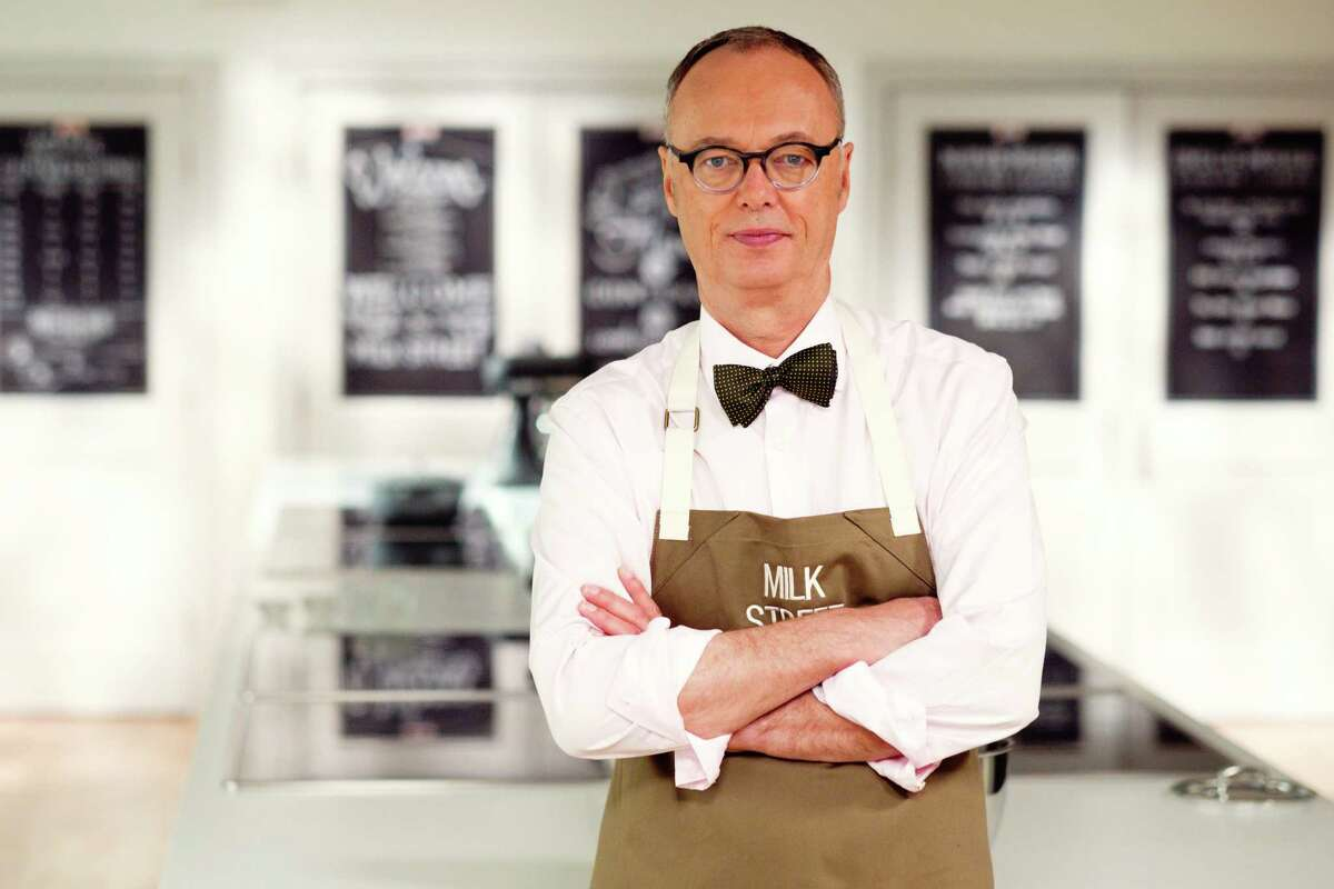 Christopher Kimball, founder of Christopher Kimball's Milk Street which is home to a cooking school, bimonthly magazine, and public television and radio show.