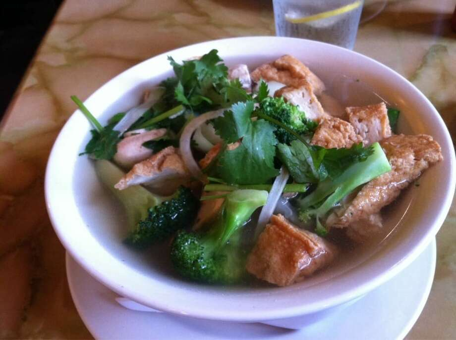 """Pho Aroma, DelridgeMike S.: """"We  have made this our go-to pho restaurant. Easily the best broth in  Seattle and nice people too. They have gotten very efficient and are  always quick, even when busy."""" Photo: Angie S./Yelp"""