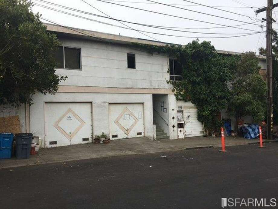 A property sitting on a large corner lot in San Francisco is on the market at $1.4 million. Photo: Courtesy Bear State Realty