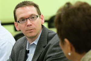 Texas Education Commissioner Mike Morath keeps in contact with local officials.