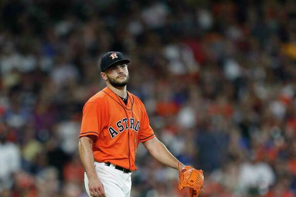 The Astros will see if Lance McCullers Jr. can make a couple of starts in the remaining 13 games and be effective enough to earn a spot in the postseason rotation. If not, Brad Peacock, right, has been steady enough to be a viable option behind Dallas Keuchel and Justin Verlander.