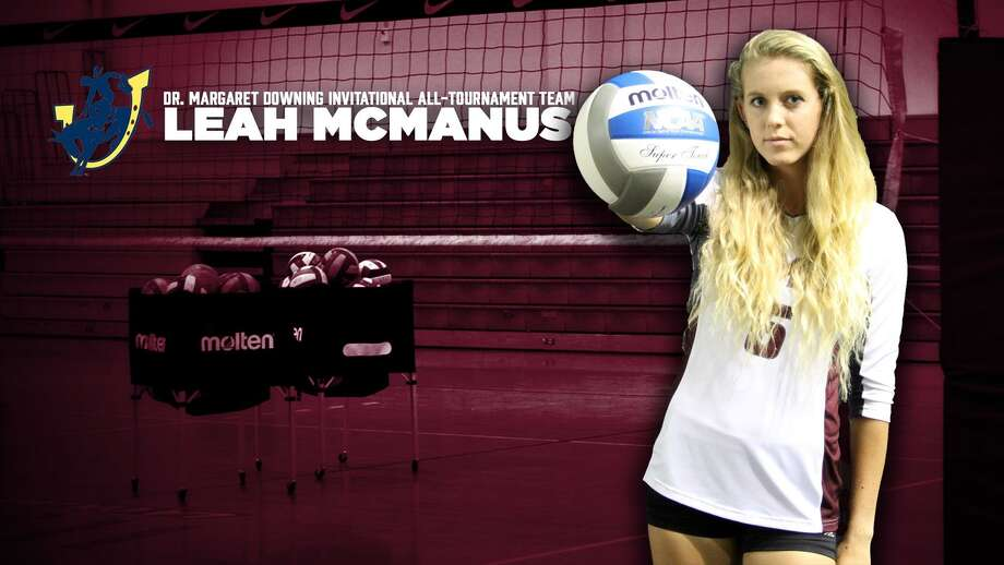 TAMIU junior Leah McManus had 45 kills, 29 digs and two aces in 14 sets at the Dr. Margaret Downing Invitational. Photo: Courtesy Of TAMIU Athletics