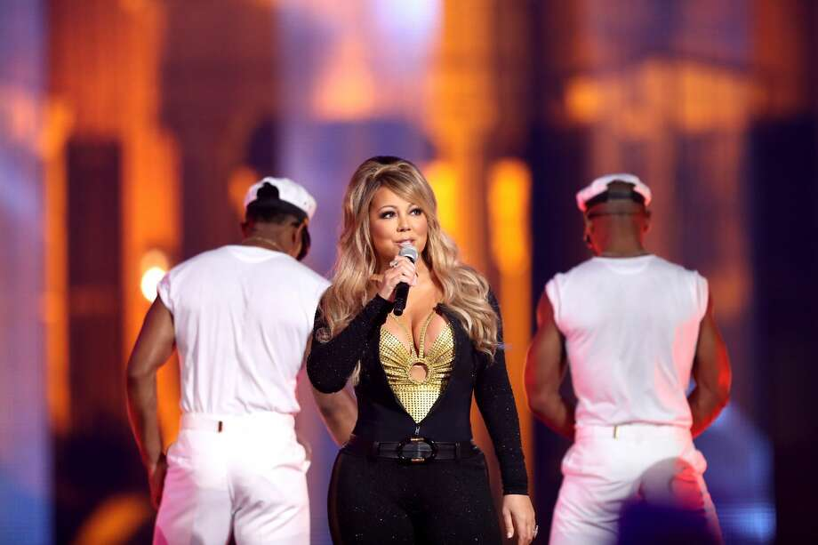 LOS ANGELES, CA - SEPTEMBER 17:  Mariah Carey performs onstage during VH1 Hip Hop Honors: The 90s Game Changers at Paramount Studios on September 17, 2017 in Los Angeles, California.  (Photo by Maury Phillips/Getty Images) Photo: Maury Phillips/Getty Images