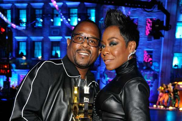 LOS ANGELES, CA - SEPTEMBER 17:  Martin Lawrence and Tichina Arnold attend VH1 Hip Hop Honors: The 90s Game Changers at Paramount Studios on September 17, 2017 in Los Angeles, California.  (Photo by John Sciulli/Getty Images for VH1/Viacom)