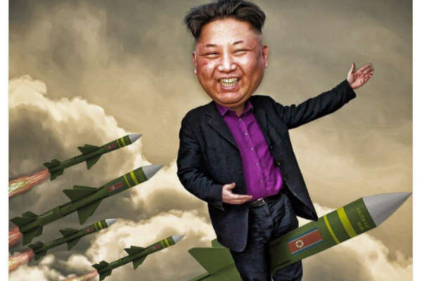 """I'm not the man they think I am at home. Oh no no no. I'm a rocket man. #RocketMan burning out his fuse up here alone. #UNGA #KimJongUn""  Source:  Twitter"