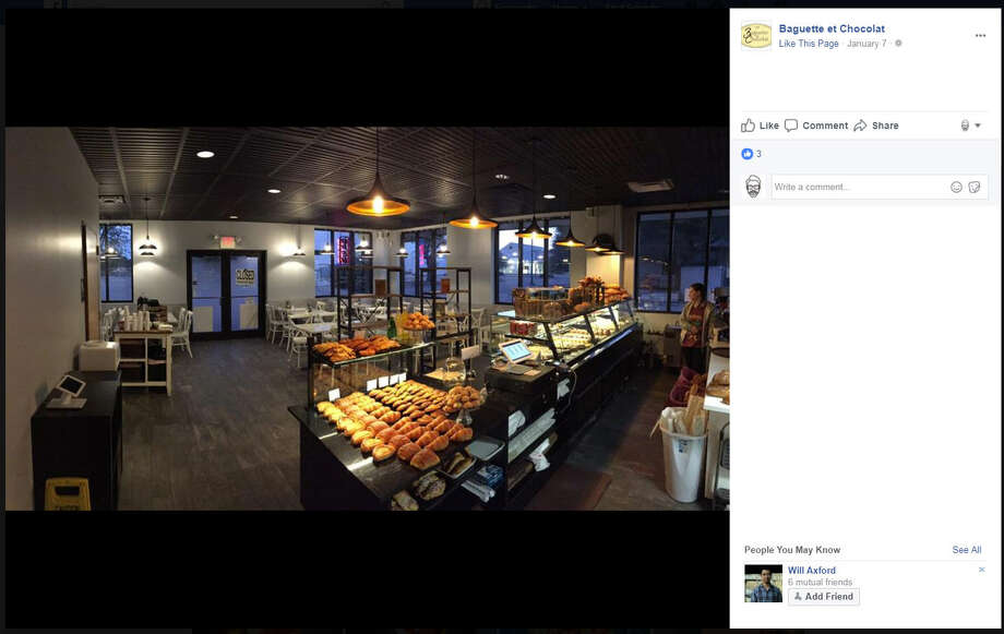 Customers ofAustin's Baguette et Chocolat are coming to the bakery's defense after they had a patron who violated its gun policy escorted off the premises. Photo: Facebook/Baguette Et Chocolat