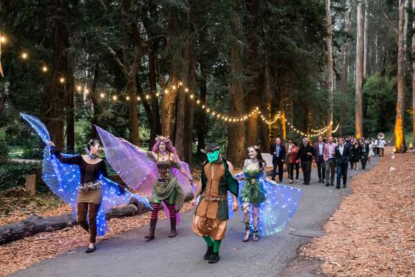 Performance attends Party for the Parks 2017 on September 16th 2017 at Sigmund Stern Grove.