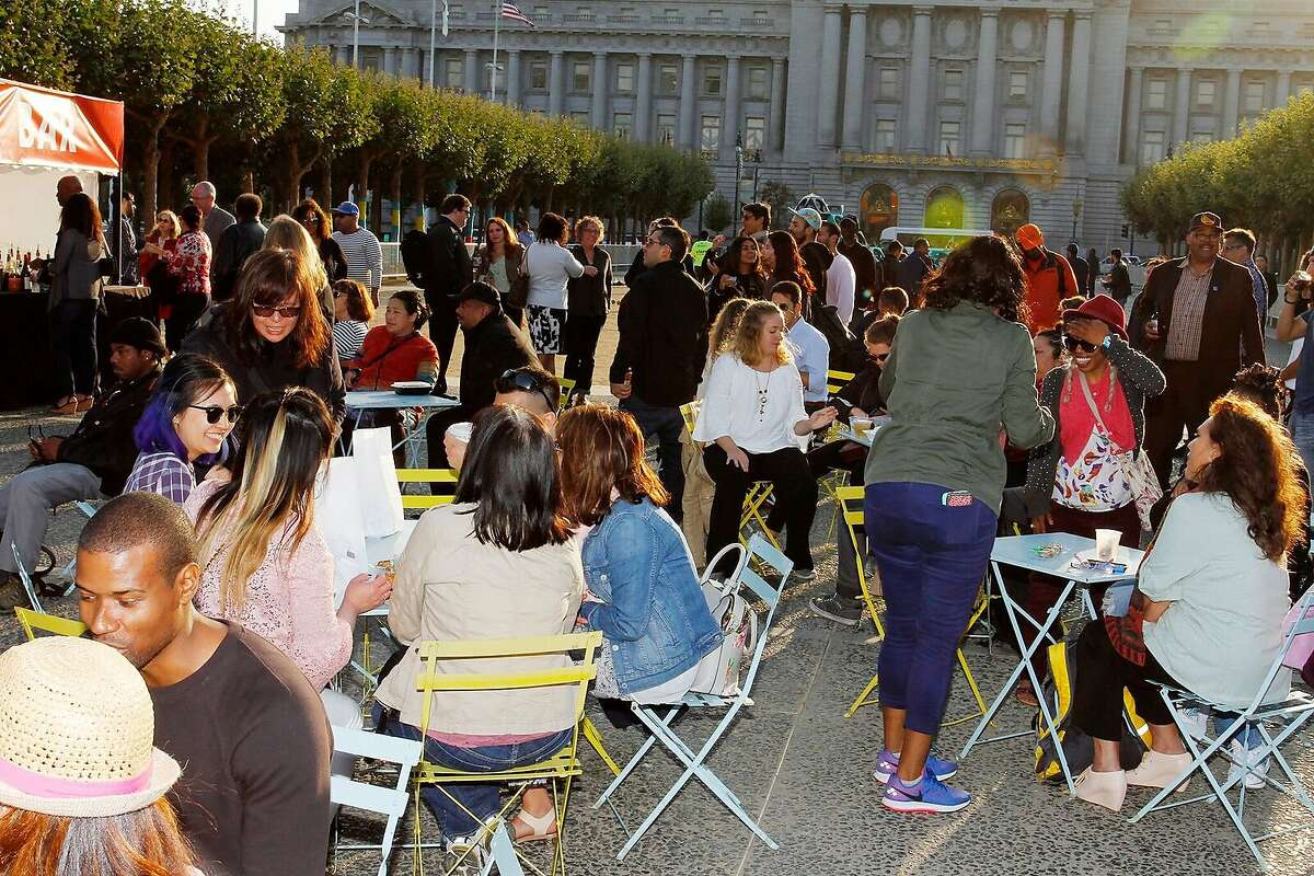 Previous Civic Center Commons block parties in 2017 have included music, bocce ball, food, art projects and other family-friendly activities.