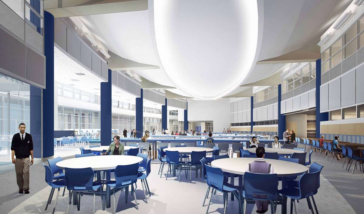 The dining area at Episcopal High School will have seating for 500.