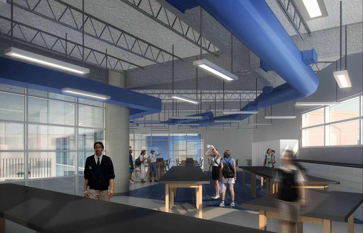 A rendering of teh Episcopal High School innovation center.