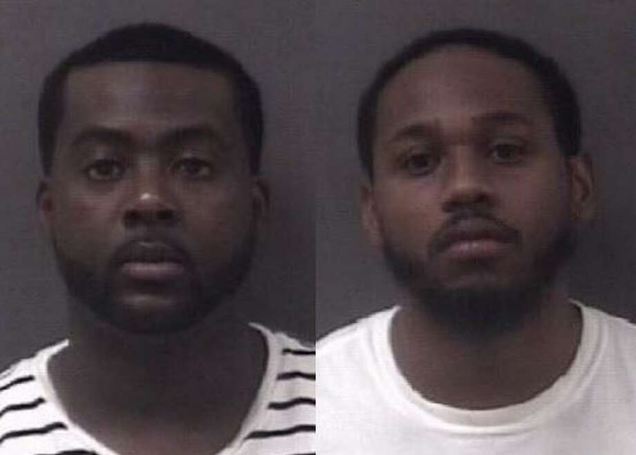 Ronald Dumas, 27,(left) and Clayton Bostic Jr., 27, (right) were arrested after they allegedly followed a vehicle and discharged a firearm. Photo: By Register Staff / Photo Courtesy Of Milford Police