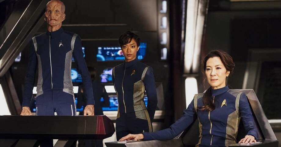 Star Trek: Discovery: September 24The newest chapter of the Star Trek saga focuses on the adventures of Michael Burnham, first officer of the USS Shenzhou, and the first human to attend the Vulcan Learning Center and Vulcan Science Academy. The series will debut on CBS before moving to CBS All Access, the network's paid subscription service. (CBS All Access) Photo: CBS