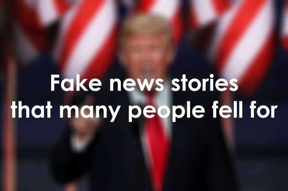 See some of the biggest fake news stories that left readers confused and hoodwinked.
