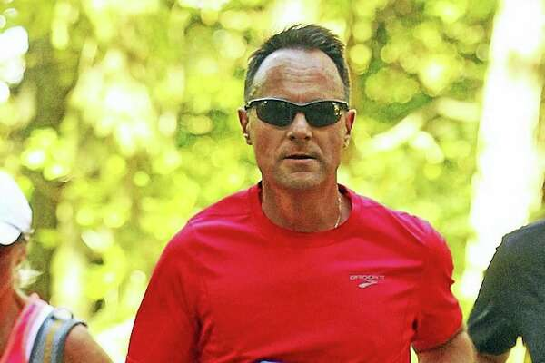 East Hampton Superintendent of Schools Paul K. Smith, 56, is one of 10 members of the Hartford Marathon's exclusive Team Aiello Inspiration Team.