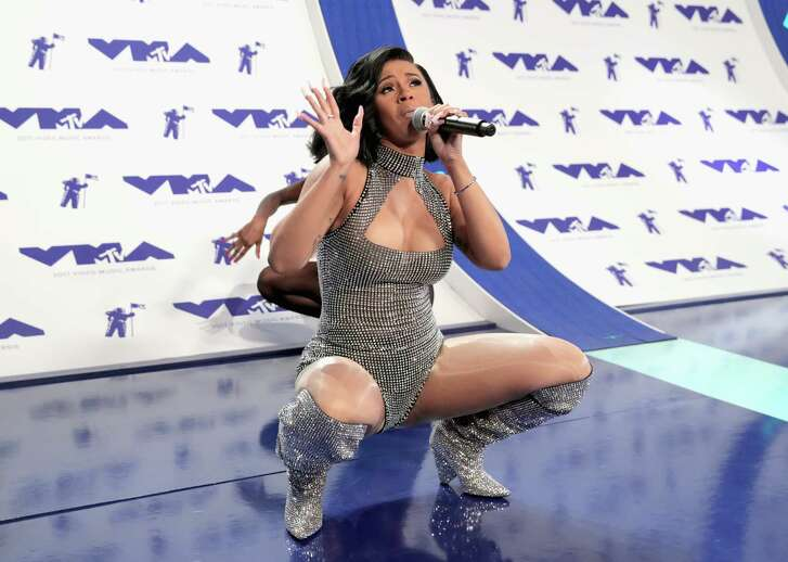 INGLEWOOD, CA - AUGUST 27:  Cardi B attends the 2017 MTV Video Music Awards at The Forum on August 27, 2017 in Inglewood, California.
