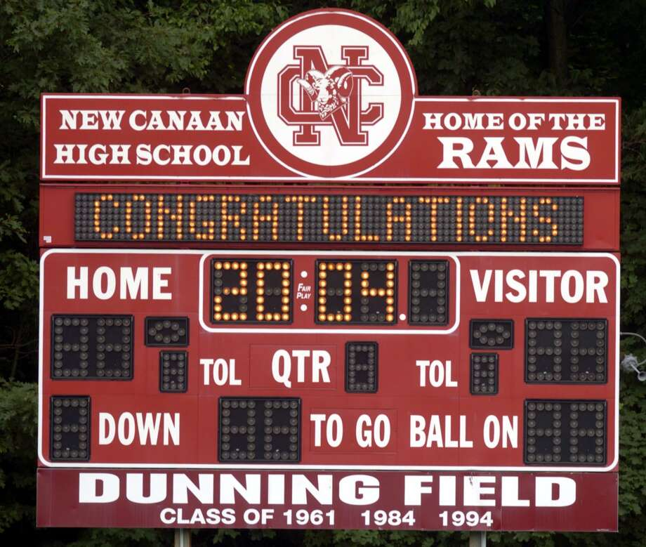 Dunning Field is one of the top five places to watch high school football in the region. Photo: Hearst Connecticut Media File Photo