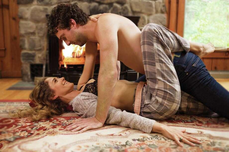 """Sex With Strangers"" Jenny Strassburg as Olivia, Ben Williamson as Ethan. Photos by Douglas C. Liebig. / Optimum Exposure Photography"