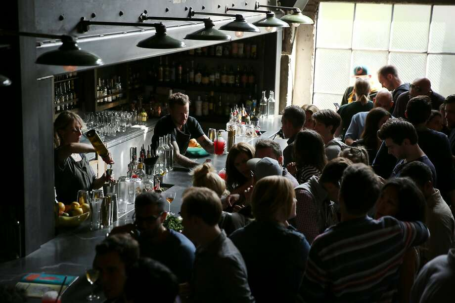 Trick Dog bar on Saturday, Sept. 16, 2017, in San Francisco, Calif. The bar is located at 3010 20th St. Photo: Santiago Mejia, The Chronicle