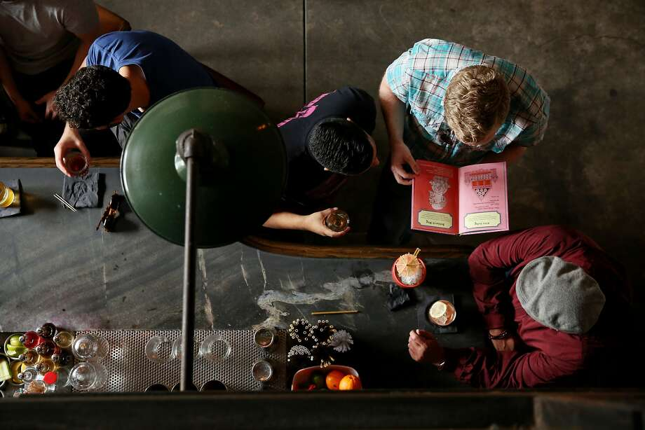 Trick Dog makes time for rhymes with its 10th menu and accompanying book. Photo: Santiago Mejia, The Chronicle