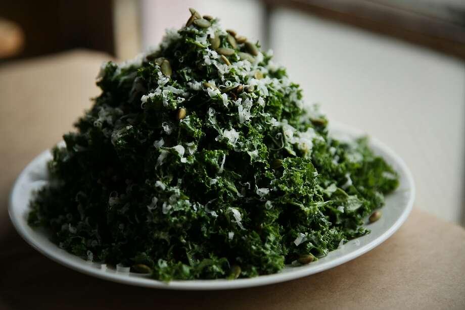 The Kale Salad at Trick Dog. Photo: Santiago Mejia, The Chronicle