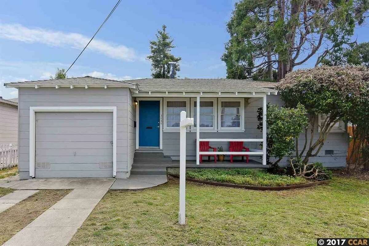 A two-bedroom, one-bathroom in Richmond listed for $399,000 has fresh paint, gleaming hardwood floors and light-filled rooms.