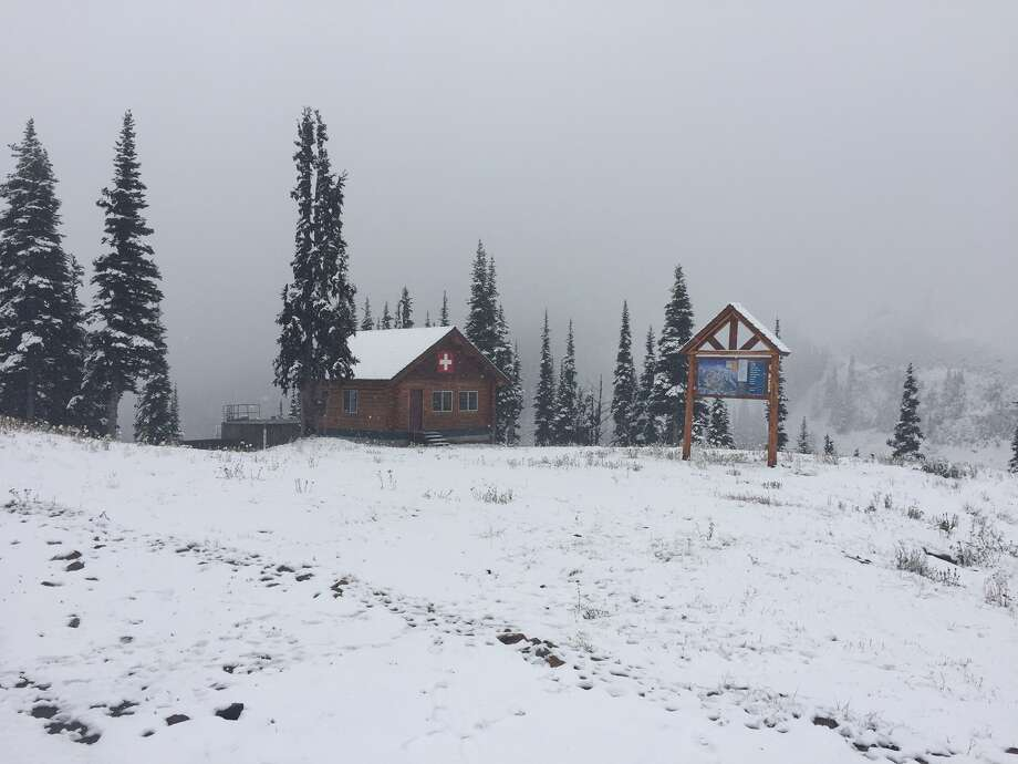Crystal Mountain Resort will open Wednesday with three ski lifts operating.   Photo courtesy Tiana Anderson/Crystal Mountain Resort Photo: Courtesy TIANA ANDERSON/CRYSTAL MOUNTAIN RESORT