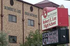This is Robert E. Lee High School on Thursday, Nov. 12, 2015 at 1400 Jackson Keller road in San Antonio, Texas.