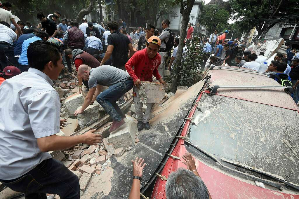 Image result for Scores killed after 7.1-magnitude quake strikes central Mexico
