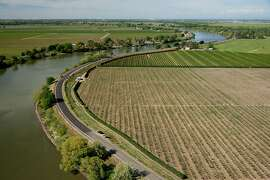 The Delta water tunnels would begin in the Courtland, Calif., at the nort end of the Sacramento-San Joaquin Dela, here in an April 2013 image. A federal audit released on Friday, Sept. 8, 2017, says $50 million in federal taxpayer dollars were improperly spent on planning for the tunnel project, threatening its future. (Randall Benton/Sacramento Bee/TNS)