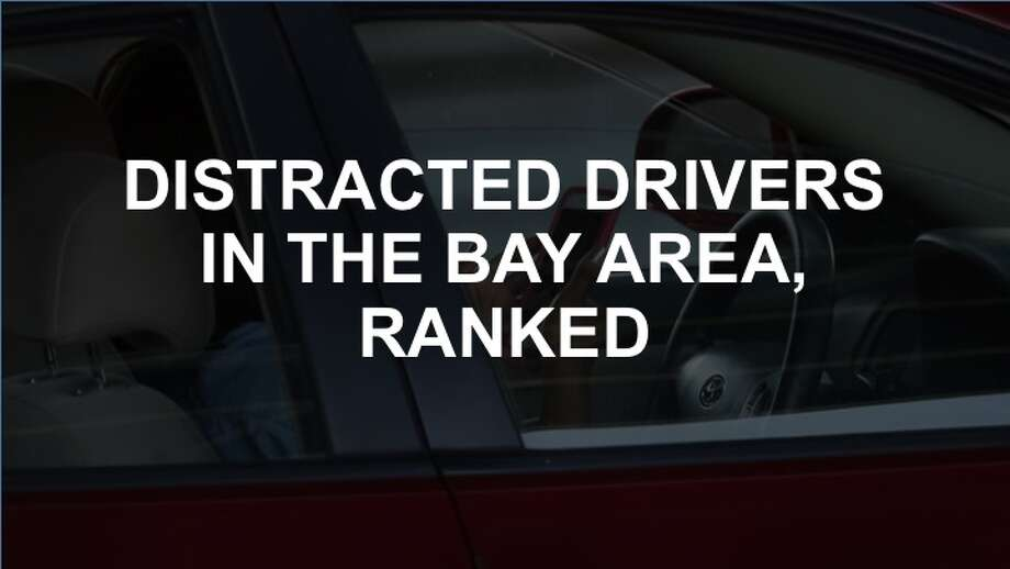 Click through the slideshow to see how Bay Area counties ranked on distracted driving, based on data from Zendrive.