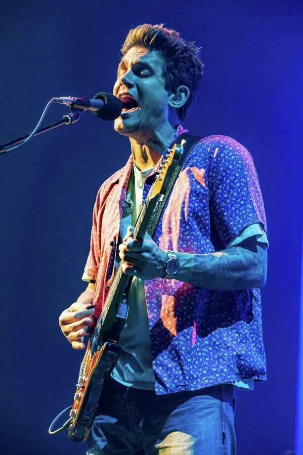"John Mayer performs last month on his ""The Search for Everything World Tour"" at the AT&T Center in San Antonio in 2017. He will return to San Antonio in September. Photo: Suzanne Cordeiro / Contributed Photo / AFP or licensors"