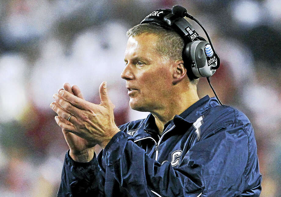 UConn coach Randy Edsall. Photo: The Associated Press File Photo  / AP2011