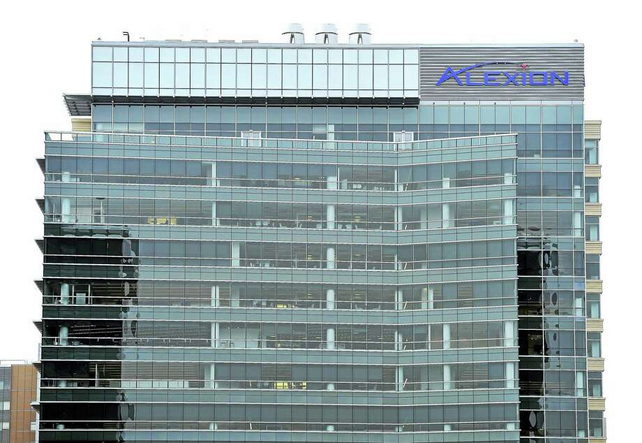 Alexion Pharmaceuticals' headquarters at 100 College St. in New Haven. Photo: FILE PHOTO